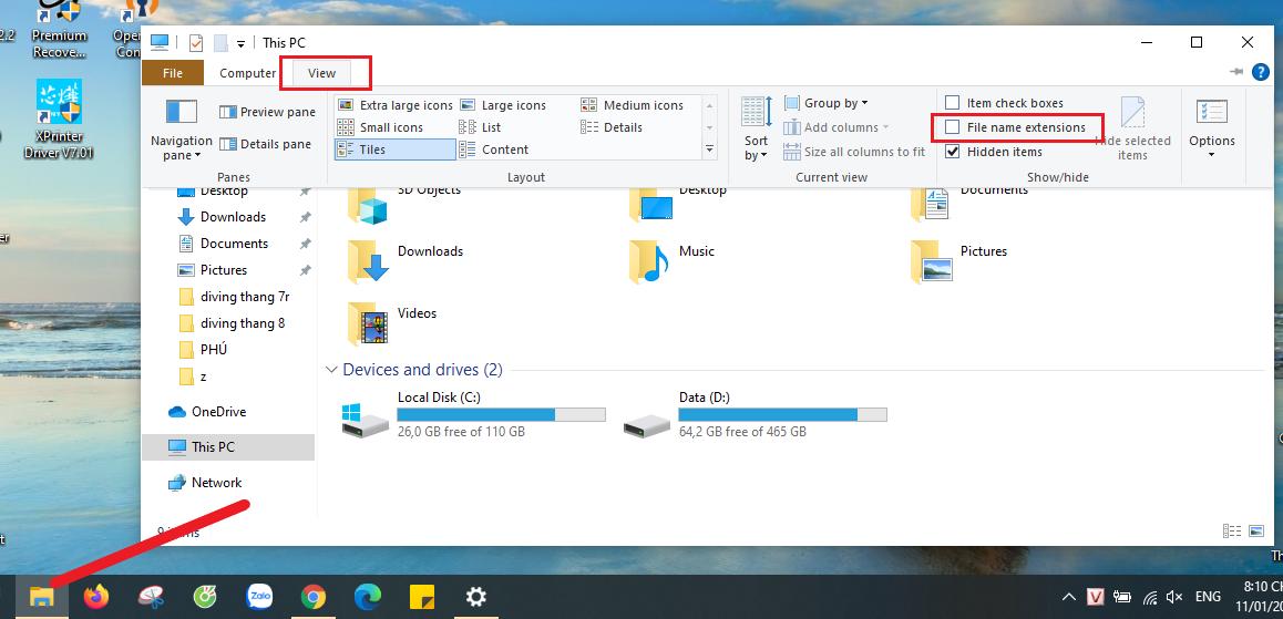 Cách làm cho desktop gọn gàng hơn