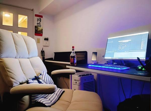 setup góc làm việc tại nhà